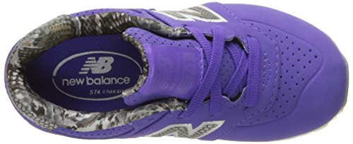 New Balance Unisex-Kinder Kl574wtg M Sneakers Multicolor (Purple/Purple)