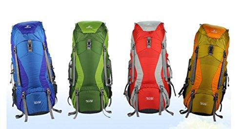 ROBAG Sport outdoor zaino spalla zaini nuovi nylon 45 + 10L 55 + 10L 65 + 10L aggiornamenti , green 45+10l green 45+10l
