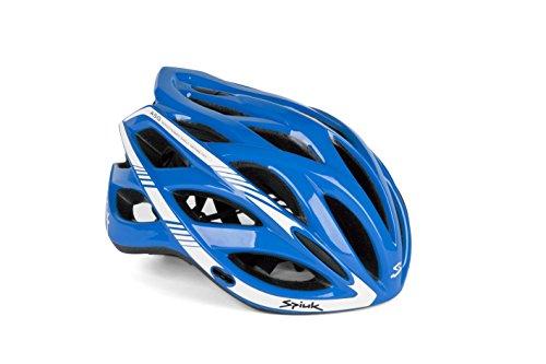 Spiuk Sportline Keilan - Casco, color azul / blanco, talla 57 - 61