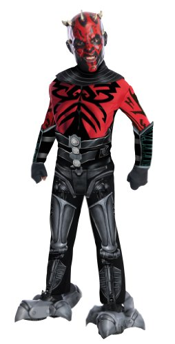 Rubies Costume Co R881360 Jungen Deluxe Darth Maul Star Wars Kostüm Größe Medium