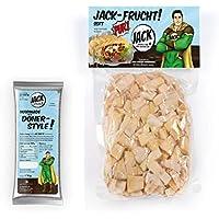 "Jackfrucht - 1 x 600 gr. JACK-FRUCHT PUR""SOFT"" mit 1 x JACK-Marinade""Dönerstyle"" 170 g - veganer Döner"