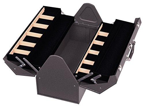 Kennedy Verarbeitung 1022B hand-carry Freischwinger Stahl/Metall Tool Box, 55,9cm Tan Braun Falten, 1022B (Kennedy Werkzeug-boxen)