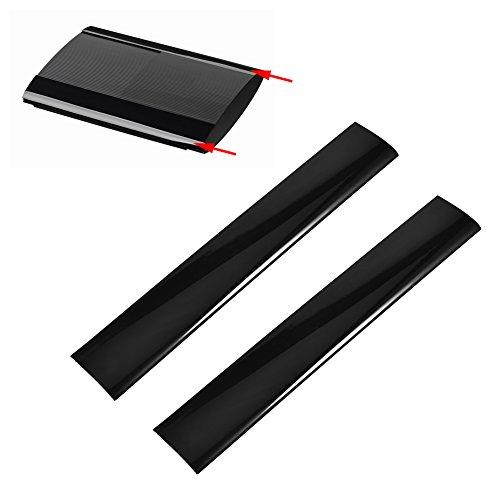 Zerone Ersatz-Gehäuse für PS3 Slim 4000 Konsole (Links und rechts) 2 Stück