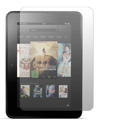 2 x Slabo Displayschutzfolie Amazon Kindle Fire HD (7 Zoll) Displayschutz Folie