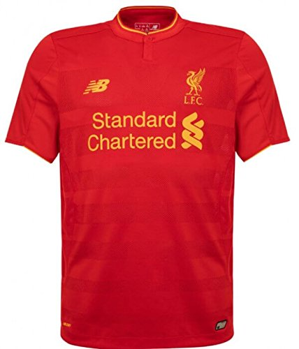 New Balance Liverpool FC Home Junior, Farbe High Risk Red, Größe S