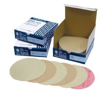 Eagle 565-0320 - 6 inch SUPER-TACK High Performance PF Premium Discs - Grit P320 - 50 discs/box by Eagle Abrasives, Inc