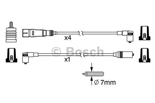 Bosch 0 986 356 342 Zündungskabel