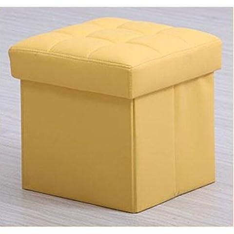E & M/banco de almacenamiento/Zapatero estante plegable taburete/banco/caja de almacenaje/La Cama Sofá banco/taburete/Muelle