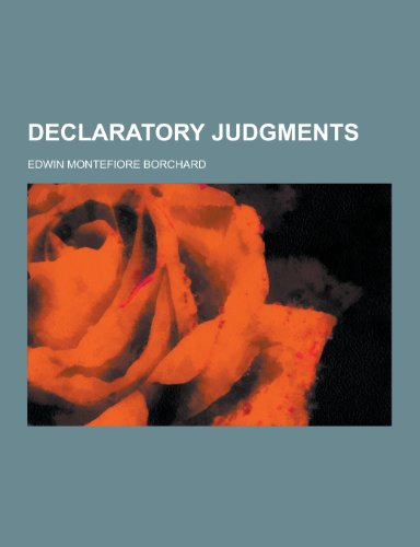 Declaratory Judgments