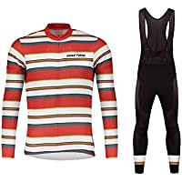 Uglyfrog Bike Wear De Invierno Manga Larga Maillot Ciclismo Hombre Bodies Long Bib Tights with Gel Pad Winter Style