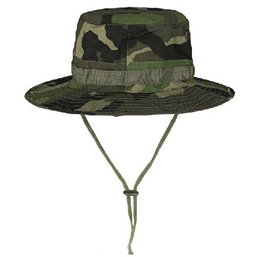 verde Camo Boonie militare di caccia dell'esercito pesca benna Jungle
