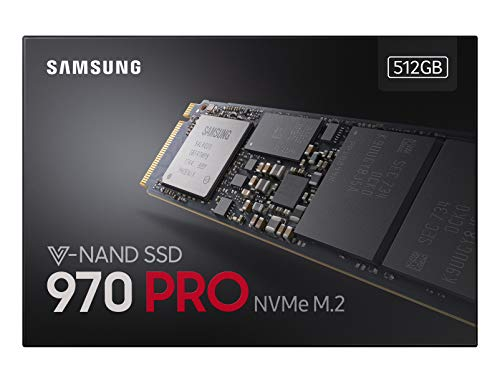 SSD 970 PRO 512Gb, M.2, NVMe