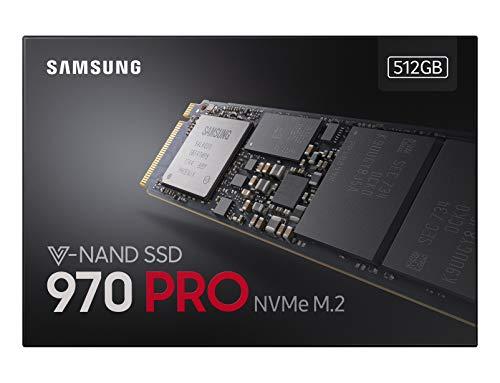 Samsung MZ-V7P512BW SSD 970 PRO 512 GB M.2 Interne NVMe SSD (bis zu 3.500 MB/s) Samsung Platte