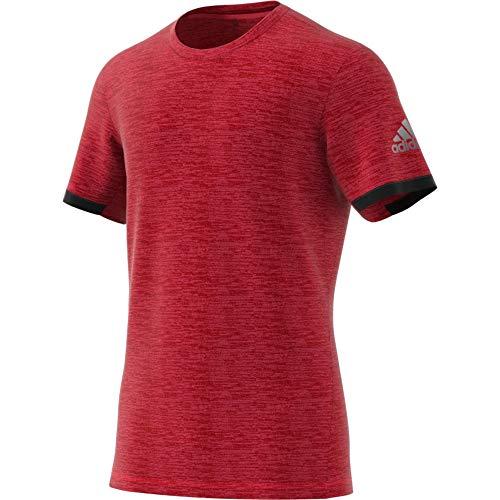 Heathered T-shirt (adidas Herren MatchCode T-Shirt, Red Heathered, M)