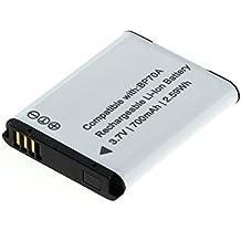 Cellonic® Batteria per Samsung WB35F DV150F WB50F ST30 ST70 WB30F ST150F ST72 ES65 ST77 ES75 MV800 PL120 ST93 ST60 ST65 ST66 ES80 ES90 PL100 ST76 ES70 ES78 PL80 PL20 PL170 (600mAh) BP70A AD43-00194A