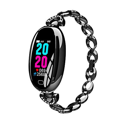 ERTO Smartwatch Fitness Tracker Armband Uhr SchrittzäHler Uhren Smart Watch Sportarmband Bracelet Step Sports Wasserdicht Laufen Schlaf GesundheitsüBerwachung