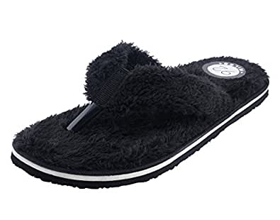 4dce911ed6c497 92 MILES Men s Fur Slippers  Buy Online at Low Prices in India ...