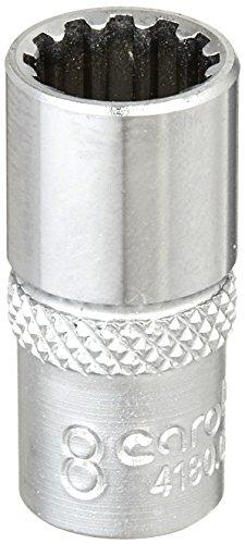 CAROLUS 4180.080 Steckschlüsseleinsatz 1/4″ Spline 8 mm
