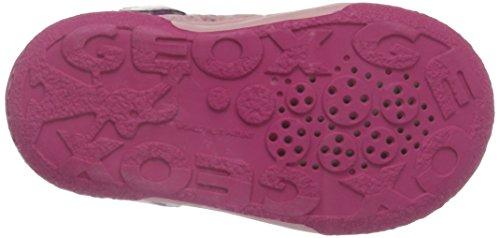 Geox B Flick A, Chaussures Marche Bébé Fille Pink (Dk PINKC8006)