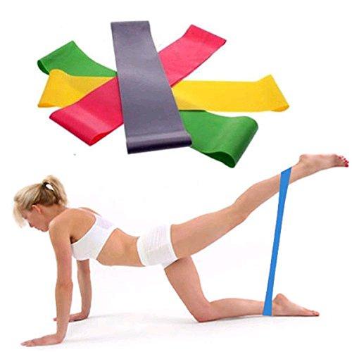 Mitlfuny FitnessbäNder Resistance Band Ideal FüR Muskelaufbau Physiotherapie -