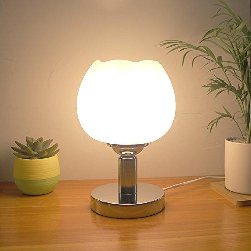 Preisvergleich Produktbild WXBW Tischleuchte-Lampe Schlafzimmer Bettlampen kreative Kurze über LED-Licht Plug-Eye-Schutz-Studie elektrische Leselampe Dimmen stilvolle Gartenlampe