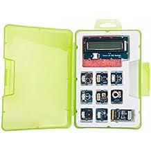 In ZIYUN Grove Starter kit,Grove Starter kit for Arduino&Genuino 101