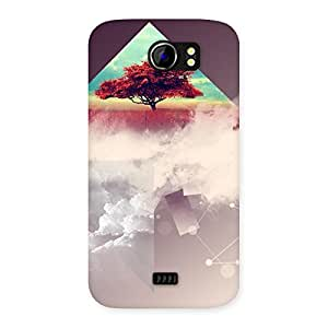 Neo World Red Triangle Abstract Back Case Cover for Micromax Canvas 2 A110 | Micromax Canvas 2 A110 Cases and Covers | Micromax Canvas 2 A110 Back Case | Micromax Canvas 2 A110 Back Cover | Premium Quality Matte Finish