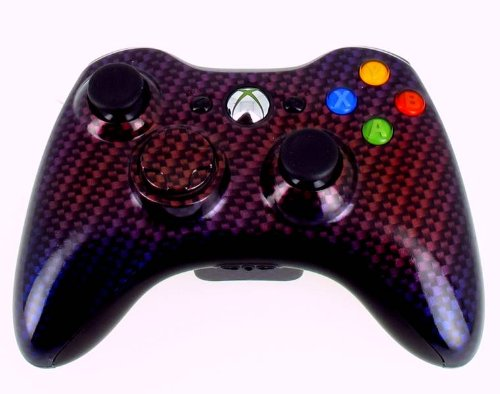 Manette Pour Xbox 360 Personnalisée - STEALTH TITANIUM