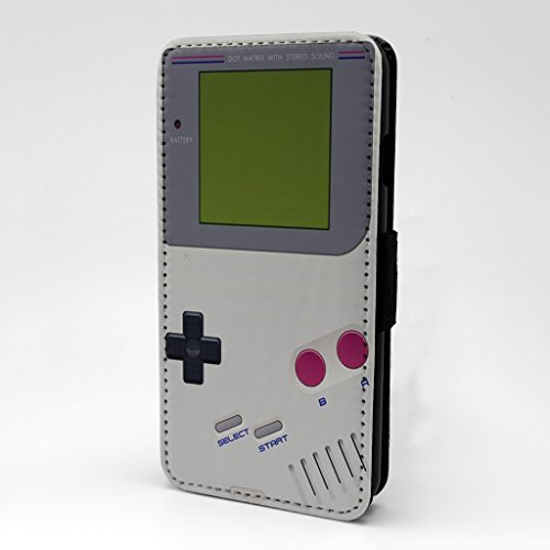 edruckt Telefon Flip Case Hülle für Apple iPhone 5 - 5 S - SE - Gameboy - s-g1014 (Iphone 5 Case Gameboy)
