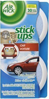 LAXON - AirWick CRISP BREEZE Smell Disc Air Freshener for Bathroom, Room and Cars etc