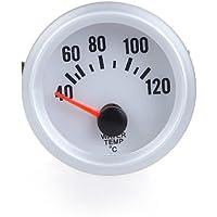 KKmoon Termómetro Medidor de Temperatura Agua Calibrador con Sensor y LED Luz para Coche Auto.