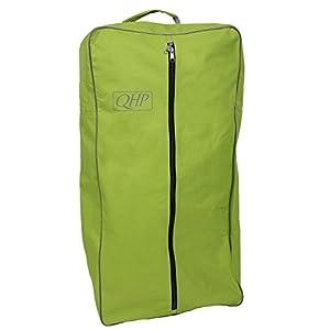 QHP Trensentasche Oxford Stoff mit Reißverschluss, Griff Kettband innen