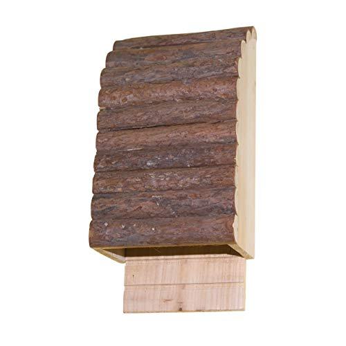Gardigo Fledermauskasten aus FSC Holz I Fledermaushaus, Fledermaushotel zum Aufhängen I Nistkasten für Fledermäuse