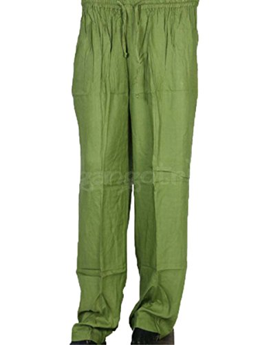 Trouser Colour Jute Green