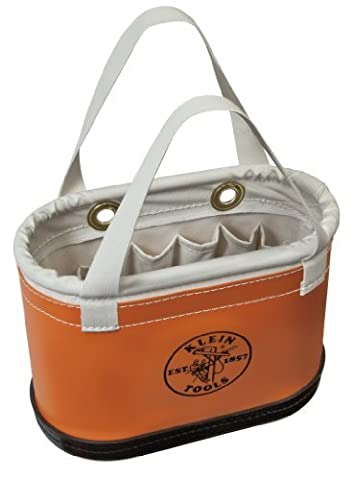 Klein Tools 5144BHHB Hard-Body Oval Bucket with Handles by Klein