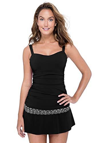 Profile by Gottex Women's Sweetheart Cup Sized Tankini Top Swimsuit (Top Tankini Unterstützende)