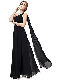 Ever-Pretty HE09816 Robe de Soirée Longue Seule-épaule Femme