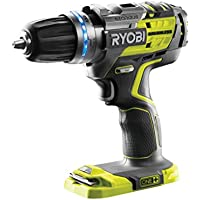 Ryobi R18PDBL-0 ONE+ Cordless Brushless Percussion Drill (Body Only), 18 V