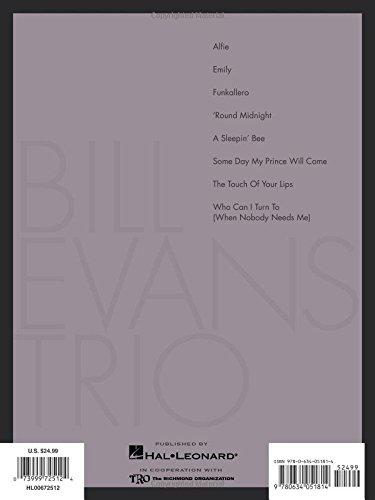 The Bill Evans Trio, Volume 3 (Artist Transcriptions)