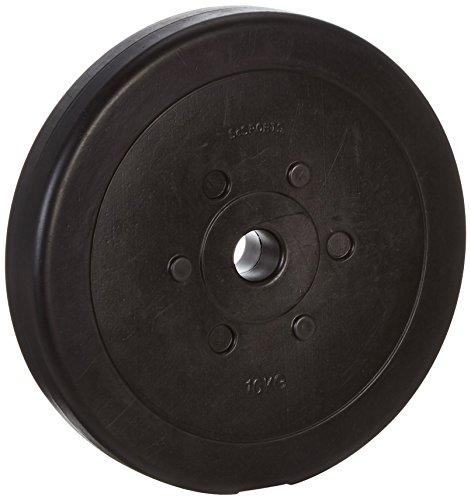 10 kg Hantelscheibe Kunststoff ScSPORTS Gewicht Zement 30/31 mm Lochdurchmesser Bohrung