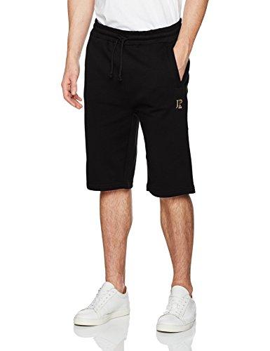 JP 1880 Herren große Größen bis 8XL, Bermuda-Shorts, Kurze Jogginghose mit elastischem Bund, Sweat-Pants mit 2 Taschen schwarz 5XL 702636 10-5XL