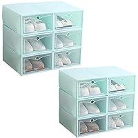 IRONLAND Hommes Femmes Rangement Chaussures Lot DE 12 Boîte à Chaussure de  Rangement 72d48002cdfd