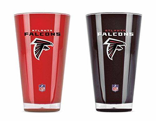 NFL Set von zwei 20Unze Tumbler, Atlanta Falcons