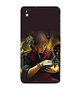 printtech Anime Cute Beautiful Girl Back Case Cover for HTC Desire 816 / HTC Desire 816 G