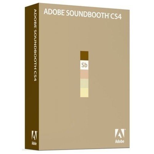 Adobe Soundbooth CS4 Upgrade englisch
