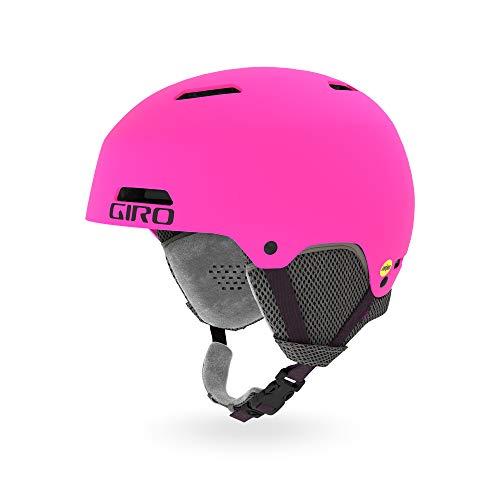 Giro Snow Unisex Jugend CRÜE Junior MIPS Skihelm, Matte Bright pink, M -