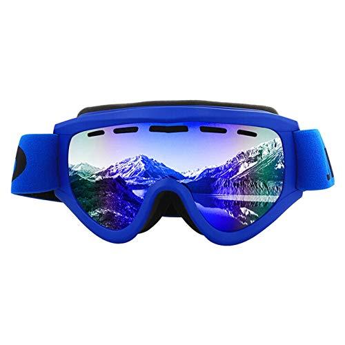 Schutzbrille Werkstatt Skibrille Für Außenbereich Für Skilanglaufbrillen Doppelte Schutzbrille Gegen Beschlagen Blue Damen Herren