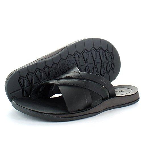 Teva, Sandali sportivi uomo nero nero UK Size 7 (EU 40.5, US 8) nero - nero