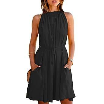 AnCart Stylish Branded Designer 2 Pocket Style Knee Length Western Dress for Girl