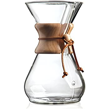 Chemex 8-Cup Wood Neck Coffee Maker